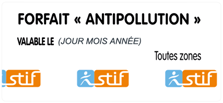 Forfait antipollution
